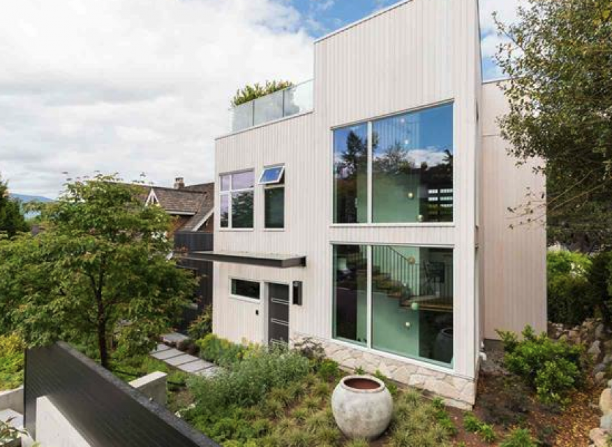 Modern West Point Grey Living